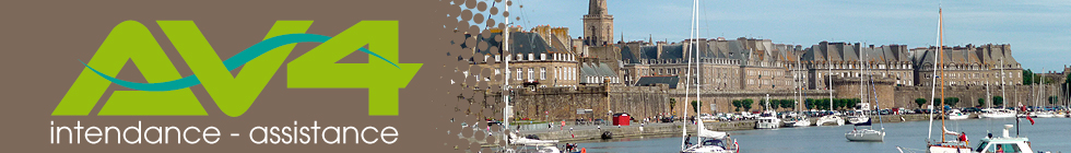 AV4 - intendance - assistance / Residences secondaires ou principales sur la cote d'Emeraude : Saint-Malo, Dinard, Saint-Luanire, Saint-Briac ...